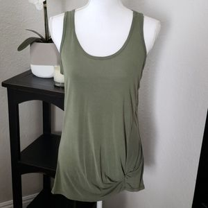 Maurice's side-knot tank top